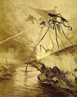 war of the worlds 1953 tripod. War of the Worlds