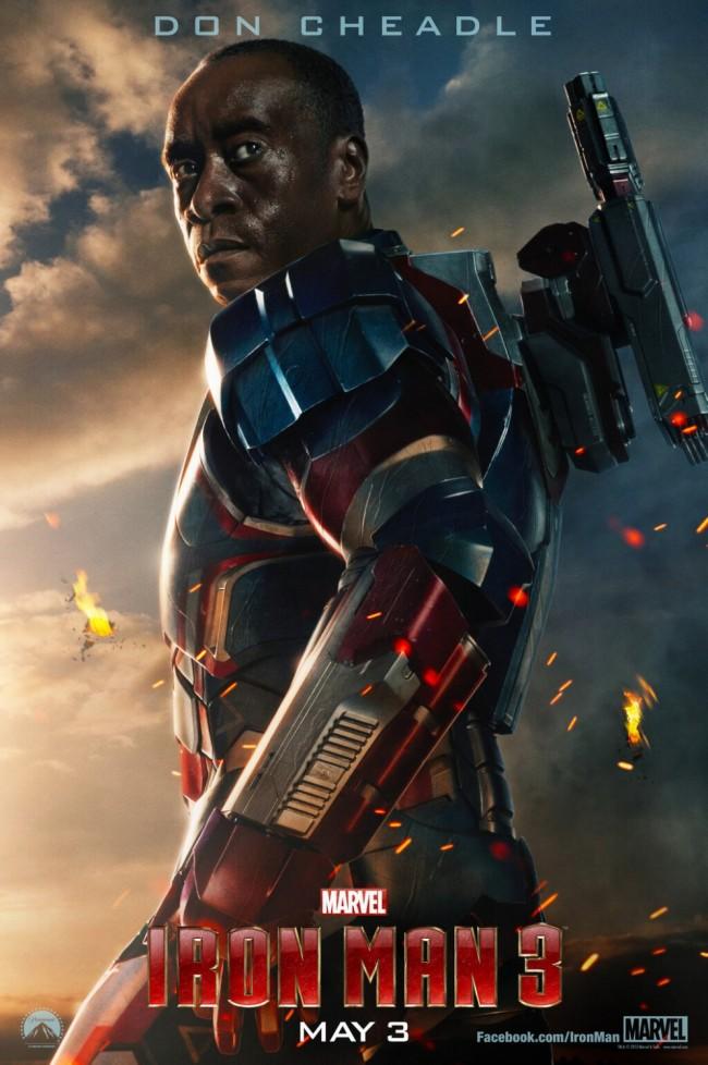 Iron Man 3 Rhodey Rhodes