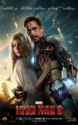 Robert Downey Jr. & Gwyneth Paltrow in Iron Man 3