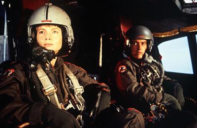 Rebecca De Mornay as Moreau and Powers Booth as Cassidy