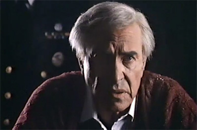 Martin Landau as the President