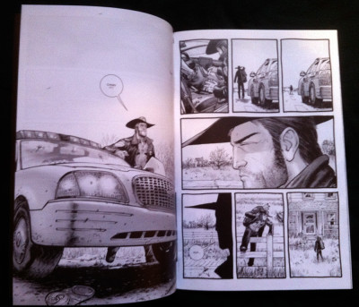 An interior look at The Walking Dead #1