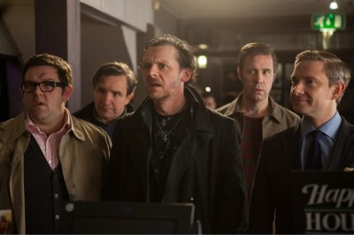 The cast of The World's End