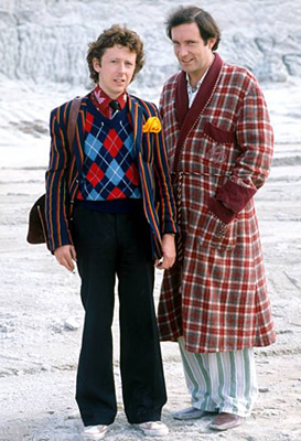 Simon Jones and David Dixon in The Hitchhiker's Guide to the Galaxy