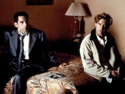 Bill Pullman and Ben Stiller in Zero Effect