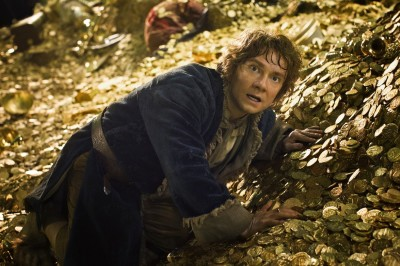 Martin Freeman as the title Hobbit
