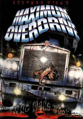 Gruesome poster for a DVD release of Maximum Overdrive
