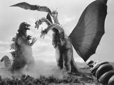 Godzilla and King Ghidorah