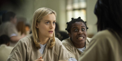 Taylor Schilling and Uzo Aduba