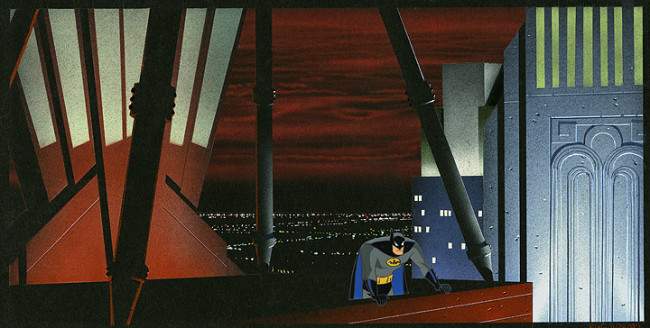 Batman Animated Preproduction 3