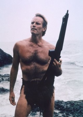 Charlton Heston as Taylor