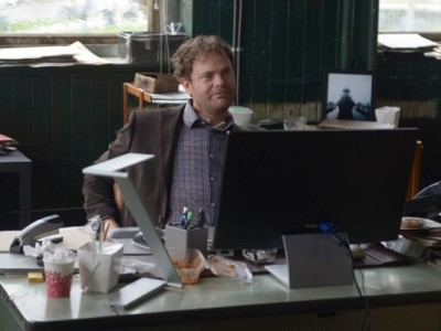 Rainn Wilson as Backstrom