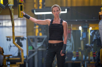 Emily Blunt as Rita aka The Angel of Verdun