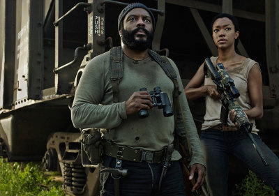 Sonequa Martin-Green and Chad L. Coleman