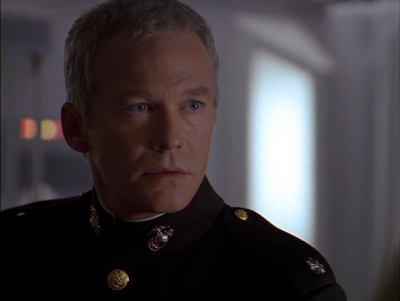 'T.C.' McQueen in dress blues