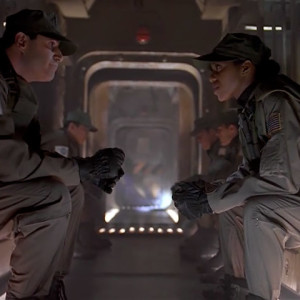 Colonel Matthew Burke and Vanessa Damphousse