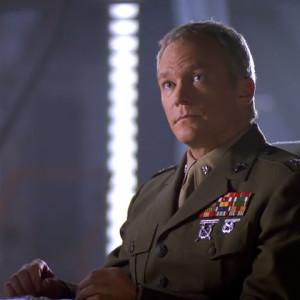 TC McQueen in uniform
