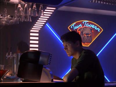 Capt. John Oakes in the Tun Tavern