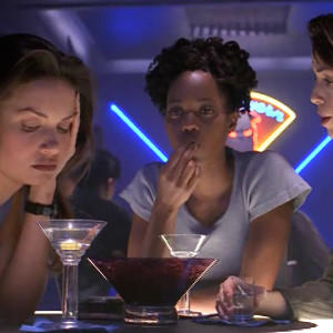 Vansen, Damphousse and Winslow over drinks