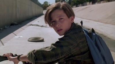Edward Furlong as John Connor in Terminator 2
