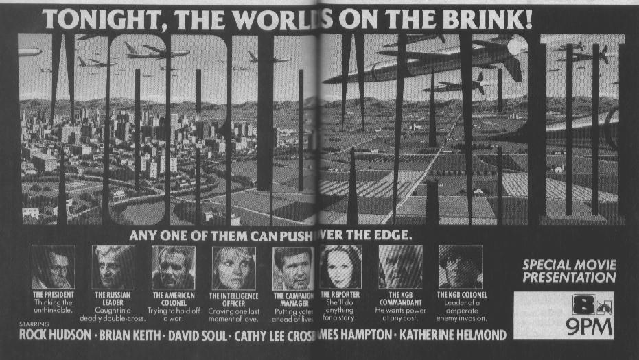 World War III TV Guide Ad