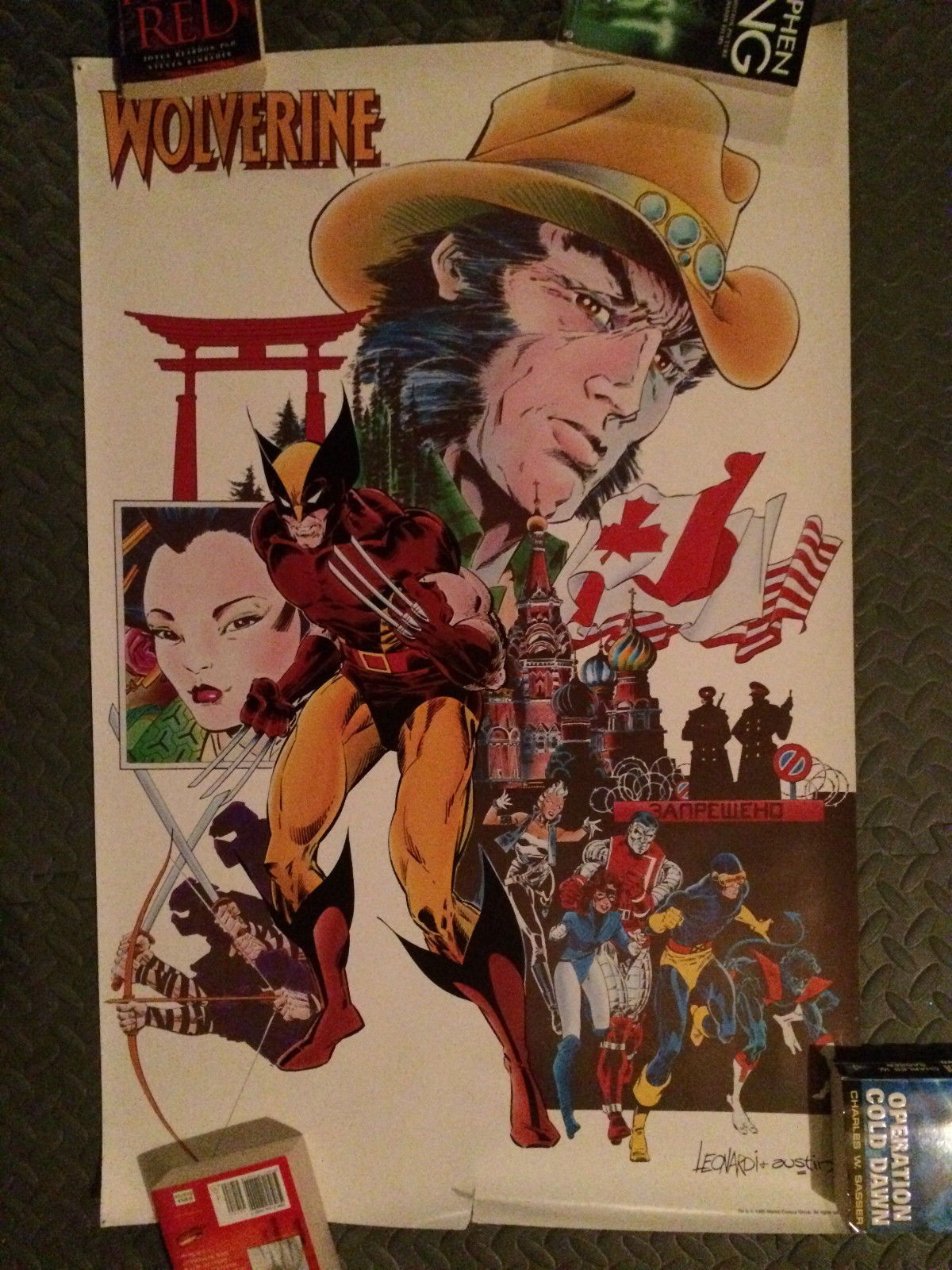 Rick Leonardi Wolverine poster