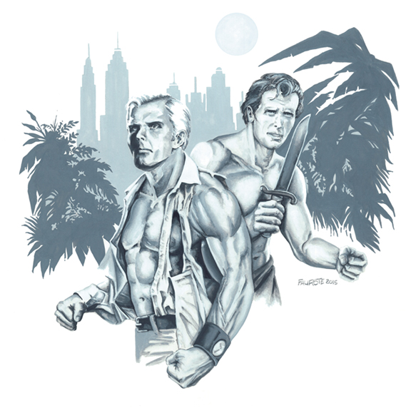 Ron Ely as Doc Savage and Tarzan