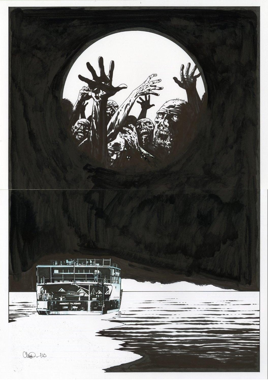 Adlard Survival of the Dead Poster