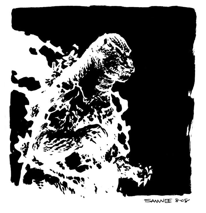Chris Samnee Godzilla